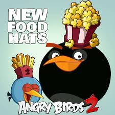 Angry Birds 2 - 🍩🍿🌭🍕Get your nom on with our new hatset! 🤩🍔🍟🥞