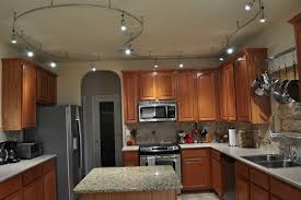 Interior Track Lighting Ideas For Kitchen Brilliant With Interior