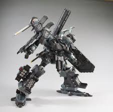Black Raven Ac Mech Gundam Armored Core Robot Design