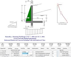 Small Picture Concrete Retaining Wall Design Example Free Cantilever Retaining