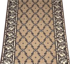 dean flooring company trellis beige carpet rug hallway runner 5 hall and stair