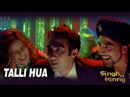 talli hua singh is kinng song