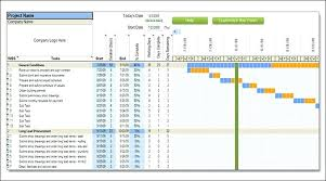 schedules template in excel construction project schedule template excel svptraining info