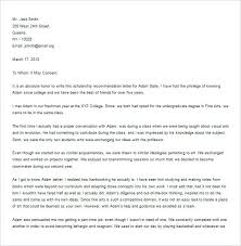 Letter Of Recommendation From Friend Template Moontex Co