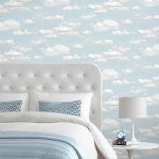 B&Q cloud wallpaper