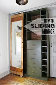 Image French Doors Pinterest How To Build Sliding Mirror Door Diy Bloggers To Follow