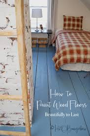 furniture on wood floors. DIY Tutorial On How To Paint Wood Floors With Detailed Instructions Prepare For Furniture