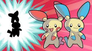 Pokemon Plusle Evolution Chart Plusle And Minun Evolve