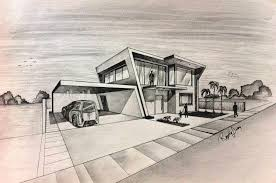 cool architecture drawing. Cool Architecture Design Drawings In Contemporary House Drawing 57 I
