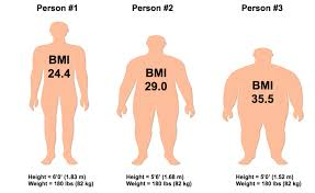 Are You Obese Chart Body Mass Index Heartstrong