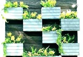 diy wall planters decoration wall planter outdoor attractive spruce up your space with a within 8 diy wall