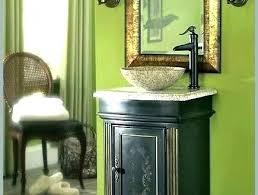 single bathroom vanities ideas. Elegant Single Bathroom Vanity With Vessel Sink Vanities  Sinks Throughout Ideas B