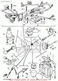 Diagram yamaha steering yamaha fz750 genesis 1985 f usa electrical 2 buy original