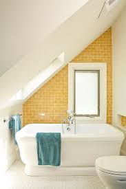 Yellow Bathroom Trendy Twist To A Timeless Color Scheme Bathrooms In Blue And Yellow