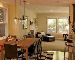 houzz dining room lighting. Inspiration For A Contemporary Great Room Remodel In San Francisco With Beige Walls Houzz Dining Lighting