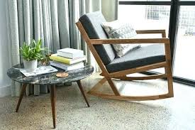extra wide outdoor rocking chairs modern rocker impressive chair black