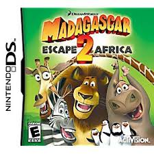 Small Picture Escape 2 Africa DS Game