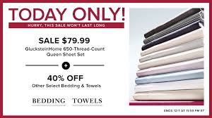 starting this morning and running until this evening at 11 59pm est you can for bedding staples at the hudson s bay canada and save at least 40 off