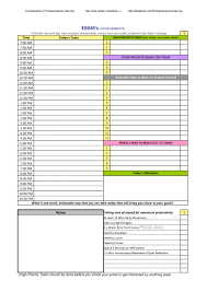Daily Schedule Template Printable Free 24 Printable Daily Planner Templates FREE Template Lab 18