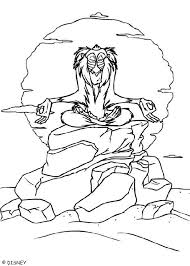 Small Picture Rafiki meditates coloring pages Hellokidscom