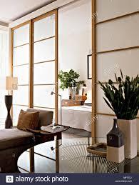 Moderne Wohnzimmer Fenster Im Japanischen Stil Schiebetüren Und