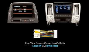Connect Rear View Camera in Lexus RX and Toyota Prius with Cable ...