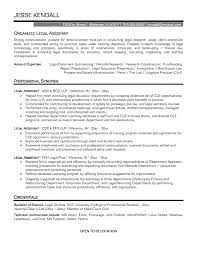 Pretentious Paralegal Resume Objective 10 Legal Secretary Entry Sample  Objectives Level E