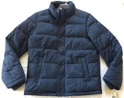 tommy hilfiger classic puffer jacket 155an782 navy winter coat men s s ski new