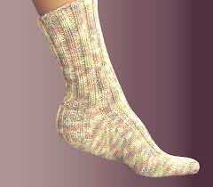 Knitted Sock Patterns Custom Free Knitting Pattern Ashley Ribbed Socks