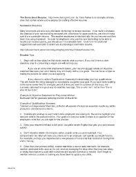 Summary Of Qualifications Resume Sample Summary Of Qualifications