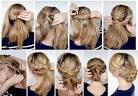 Модная прическа на длинные волосы с плетением