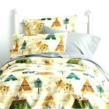 exotic camping themed bedroom decor kids bedding woodland theme 1 sets c