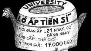 Image result for Đại học bèo, tiến sĩ dỏm ở Việt Nam