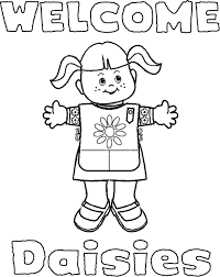 Printable Girl Scout Brownie Coloring Pages