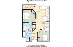 San Diego 2 Bedroom Suites Club Wyndham Wyndham Oceanside Pier Resort