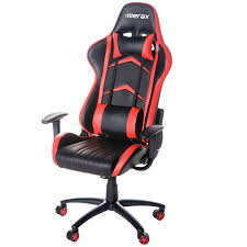 office chairs images. amazoncom merax racing style pu leather office chair 180 degree back adjustment swivel computer gaming executive blackred home u0026 kitchen chairs images