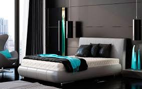 unique Turquoise with brown bedroom idea black and turquoise bedroom colors  trends 2017