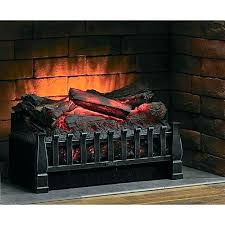 electric fireplace logs with heat pleasant hearth