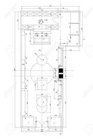 office furniture plans. Standard Office Furniture Symbols On Floor Plans 스톡 콘텐츠 - 72888131 A
