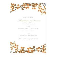 Free Thanksgiving Templates For Word Thanksgiving Invitation Templates Free Word Invitations Fall