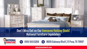 4TH OF JULY Furniture Special at National Furniture Liquidators