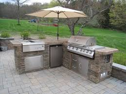 Small Outdoor Kitchen Patio Outdoor Kitchen Mini Fridge Pictures Decorations
