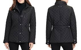 Ralph Lauren Jacket   Bloomingdale's & Lauren Ralph Lauren Diamond-Quilted Coat - Bloomingdale's_2 Adamdwight.com