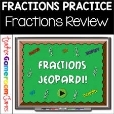 Fractions Powerpoint Game By Teacher Gameroom Teachers Pay Teachers