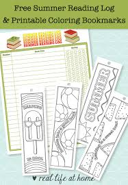 free printable summer reading log and