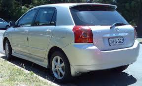 File:2004-2007 Toyota Corolla (ZZE122R 5Y) Levin 5-door hatchback ...