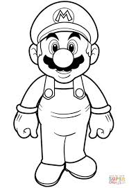 Super Mario Coloring Page Free Printable Coloring Pages