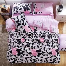 king size bed sheet wholesale b w panda bedding set cotton bed sheet bedspread duvet