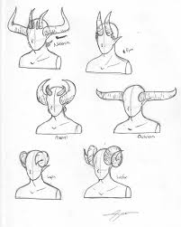Demon Horn Designs How To Draw Demon Horns Google Search Drawings Art