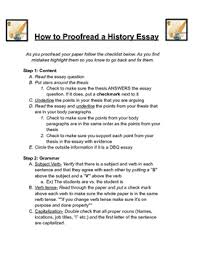 how to proof a history essay by the wonderful world of history how to proof a history essay